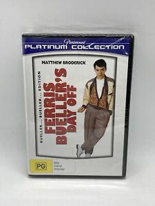 Ferris Bueller's Day Off (1986) Region 4 DVD NEW & SEALED
