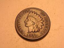 1879 Indian Head Cent (Fine, Double Die Obverse, & Attractive)