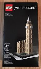 LEGO ARCHITECTURE 21013 Big Ben NIB New & Sealed Hard To Find