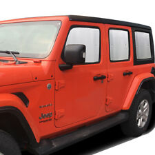 Fit For Jeep Wrangler 4-Door 2007-2017 Side Seat Window Privacy Sunshade 6pcs
