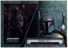 2019 Topps Chrome Star Wars Base #114 Bounty Hunter Line-Up