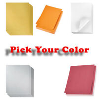 Shimmer Paper – 96-Pack Metallic Cardstock Paper, Double Sided *PICK YOUR COLOR*