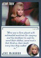 Star Trek TOS Archives & Inscriptions card #15 Eve McHuron Variation 1 of 18