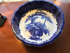 New listing Rare Large Antique Dutch Delft Blue And White Pottery Bowl