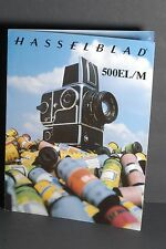 Hasselblad 500EL/M 1980 Camera Brochure