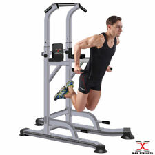 Heavy Duty Power Tower Pull Up Chinning Dip Station MMA Gym Workout Stand