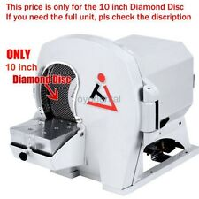 Best Abrasive Diamond Disc 10 inch for Dental Lab Wet Model Grinder Trimmer JT51