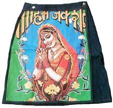 Vaqueros de diseño rock Goa festival hippie w28/w29 d.38/40