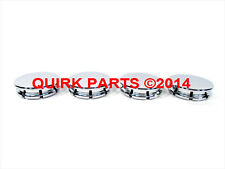 "11-12 Jeep Liberty Jet WITH 20"" WHEELS CENTER CAPS CHROME SET OF 4 OEM NEW MOPAR"