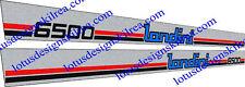 LANDINI 6500 Trattore Adesivi/Decalcomanie