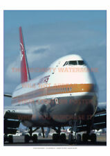 QANTAS BOEING 747 238B 1981 A3 COLOUR POSTER PICTURE PRINT PHOTO IMAGE x