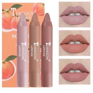 3pcs crayon lipstick small box lipstick matte matte lipstick velvet air pen U6T4