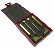 RDGTOOLS 6PC CLAMPING KIT STEP BLOCKS CLAMPS 12MM STUDS 14MM TEE NUTS MILLING M6
