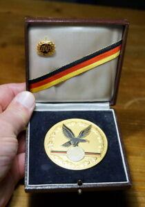 alte Medaille DAB deutsche Meisterschaft im Gewichtheben 1967 Rarität 1. Platz