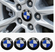 4PCS BMW Wheel Center Caps Emblem Fit BMW 68mm Emblem Replacement for All Models