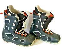 Mens Black BURTON Snowboarding Boots FADER MATRIX 2 Mens Size 12 Eur 46