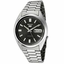 Seiko 5 Mens Black Dial Automatic Watch Snxs79k