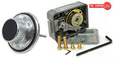LAGARD COMBINATION LOCK LG 3330 WITH LG1777 DIAL AND RING SET SATIN CHROME