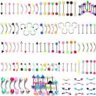 lot de 120 piercing percing melange arcade nombril labret langue nez revendeur