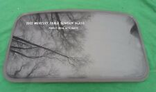 2002 MERCURY SABLE YEAR SPECIFIC SUNROOF GLASS OEM NO ACCIDENT!  FREE SHIPPING!