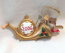 Charming Tails Begin the Holiday on a Happy Note Ornament (Mouse) [Limited Ed]