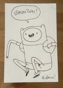 ANDY RISTAINO, lead character designer for ADVENTURE TIME original art + ZINES