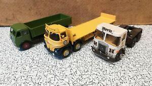 Heavy Goods Atkinson Borderer 4x2 White Metal Kit 1/50 + 2 x foden