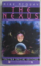 The Nexus by Mike McQuay PB 1st Bantam 28178 - mankind morality media madness