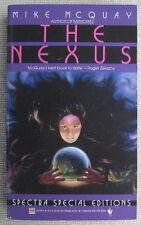 The Nexus by Mike McQuay PB 1st Bantam 28178 - mankind morality media madness