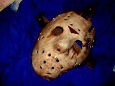 Jason Creation Station Friday 13th 9  Hockey MASK HALLOWEEN HORROR prop Replica