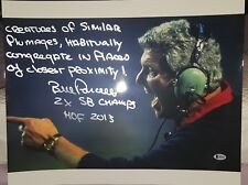 """BILL PARCELLS GIANTS """"CREATURES"""" SIGNED & INSCRIBED 16X20 COLOR PHOTO - BECKETT"""
