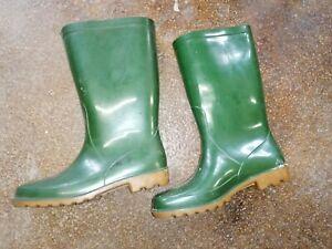 Stiefel, Gummistiefel, Elbit, Gr.37 VEB, DDR, Ostalgie grün Rubber altes Model