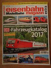 eisenbahn Modellbahn magazin extra Fahrzeugkatalog 2017 auf 100 Seiten.
