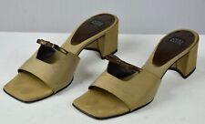 Anne Klein Women's Satin Sandals Heels Shoes Sz 8.5 M Vintage
