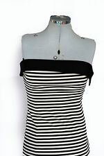 Wiggle, Pencil Synthetic Striped Dresses for Women