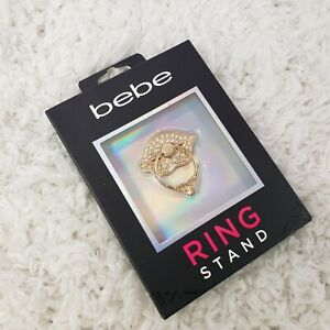 NWT BEBE Ring Stand Cell Phone Lips