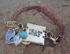 """'COWGIRL CANDY""""  - 'HELL ON HEELS' WESTERN BRACELET - BRAND NEW"""