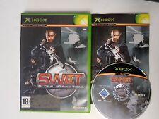 * Original Xbox Juego * SWAT GLOBAL STRIKE TEAM * X Caja