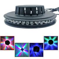 5W USB RGB Sound Aktiviert Drehbar Disco Licht LED Ball Party Stage Lampe Units