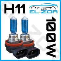 2 X H11 711 100w Super Bright White Xenon Headlight Front Fog Drl Bulbs Lamp 12v