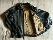 Polo Ralph Lauren Leather Jacket, black, m