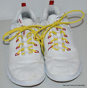 Nike Air Zoom AA0286-106 Womens Size 11 White Red Hyperace 2 Volleyball Shoes Y