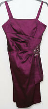 R&M Richards size 14 sleeveless purple dress tagged