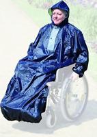 Regencape mit Ärmeln Rainstar STB MPB Regenschutz Rollstuhl