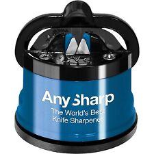 Classic AnySharp Global World Best Knife Sharpener Sharpening Dual Blade Knives