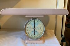 Vintage American Family Nursery Scale Baby Scale 30 Lbs Great Condition Pink