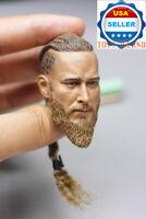 1/6 Scale Viking Captain Head Sculpt For 12'' PHICEN Hot Toys Male Figure ❶USA❶