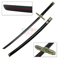 Guren Ichinose Red Striped Carbon Steel Katana Sword Seraph of the End
