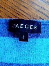 Ladies Jaeger stripped jumper