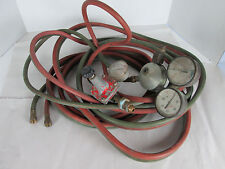 Oxy Acetylene Outfit Marquette Hoses Gauges Gas Welding Cutting S
